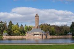 Le Jachtslot Sint Hubertus Castle en Hollande Image libre de droits