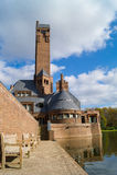 Le Jachtslot Sint Hubertus Castle en Hollande Image stock