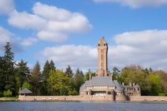 Le Jachtslot Sint Hubertus Castle en Hollande Photo stock