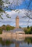 Le Jachtslot Sint Hubertus Castle en Hollande Photo libre de droits