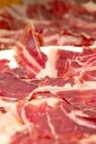 Le jambon du porc ibérien Photo stock