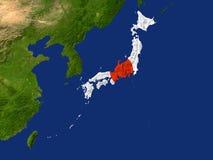 le Japon Images libres de droits