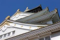 Le Japon : Château d'Osaka Images stock