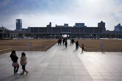 Le Japon - Hiroshima - le musée commémoratif images stock
