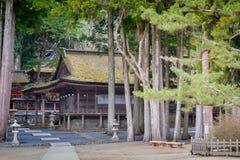 le Japon, koyasan, okunoin, bâti, koya, antique, vieux, cimetière, Cu Photographie stock libre de droits