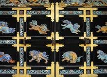 Le Japon - Kyoto - temple de Nishi Honganji Image libre de droits