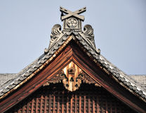 Le Japon Osaka Detail Architecture (8) Photo libre de droits