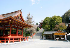 Le Japon : Tsurugaoka Hachimangu Photo stock
