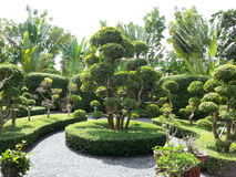 Le jardin Photo stock