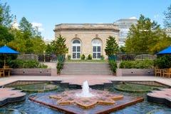 Le jardin botanique des Etats-Unis à Washington D C images libres de droits