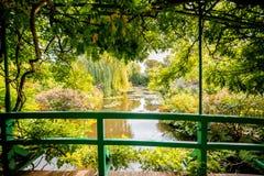 Le jardin de Claud Monet dans Giverny photos stock
