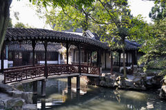 Le jardin de l'administrateur humble de Suzhou Photo stock