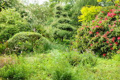 le Jardin de l Atelier in Perros Guirec Royalty Free Stock Images