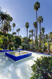 Le jardin de Marjorelle fountain Royalty Free Stock Photography