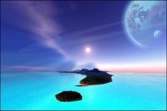 Le jardin de Neptune Photo libre de droits