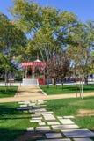 Le jardin de Republica dans Santarem Photos libres de droits