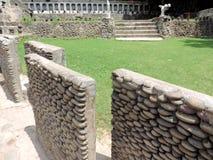 Le jardin de roche de Chandigarh, Inde image stock