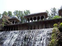 Le jardin de roche de Chandigarh, Inde photographie stock libre de droits