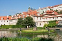 Le jardin de Wallenstein à Prague, République Tchèque Image libre de droits