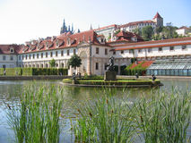 Le jardin de Wallenstein. Prague. Images stock