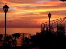Le jardin du lever de soleil Images stock