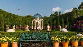 Le jardin est enamouré du jardin tropical Thaïlande de Nong Nooch de parc Photos libres de droits