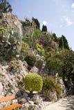 Le jardin exotique du Monaco Photo stock