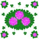 Le jardin fleurit l'illustration plate de vecteur Images stock
