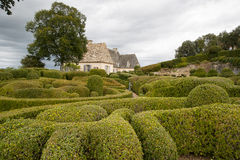 Le Jardin Marqueyssac France stock photography