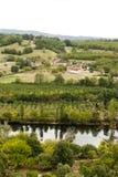 Le Jardin Marqueyssac trädgårdar royaltyfria bilder
