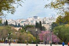 Le jardin national ou Garde royal Photos libres de droits
