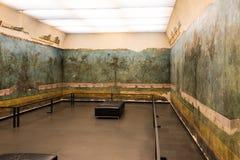 Le jardin peint de la villa de Livia images libres de droits