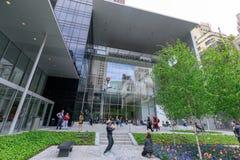Le jardin principal de MoMA, musée d'art moderne à Manhattan, NYC Photographie stock