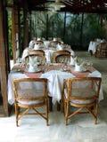 Le jardin Restaurante Imagens de Stock