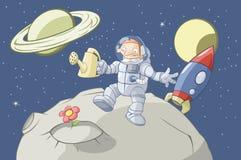 Le jardinier de l'espace