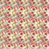 Le jaune de rouge bleu entoure le fond abstrait psychédélique Photo stock