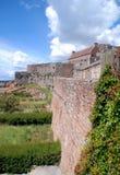 Le Jersey : Château d'Elizabeth Image stock