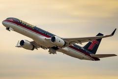 Le jet de Donald Trump Photographie stock