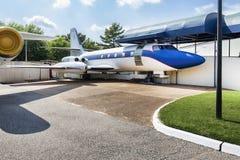 Le jet privé d'Elvis Presley images libres de droits