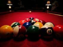 Le jeu de piscine Regard artistique dans des couleurs de vintage Photographie stock libre de droits