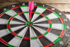 Le jeu des dards Symbole de réussite Photographie stock