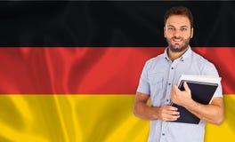 Langue de l'Allemagne Image stock