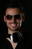Le jeune DJ Photos stock