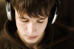 Le jeune DJ Image stock