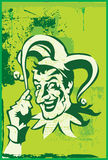 Le joker illustration stock