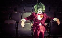 Le joker de Batman à un événement comique d'escroc images stock