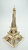 Le jouet de papier de Tour Eiffel Photo stock