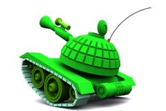 Le jouet de réservoir Image libre de droits