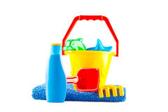 Le jouet en plastique des enfants Images stock