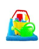 Le jouet en plastique des enfants Photo libre de droits